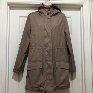Love Tree Hooded Trench Size L